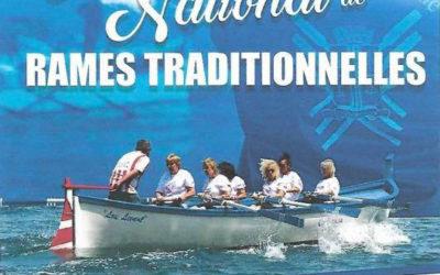 Deuxième manche du championnat national de rame traditionnelle à Théoule-sur-Mer