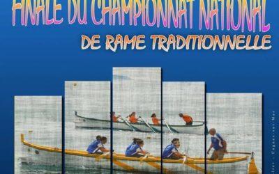Quatrième et dernière manche du championnat national de rame traditionnelle 2019 au Cros-de-Cagnes