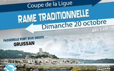 Coupe de la ligue de rame traditionnelle à Gruissan