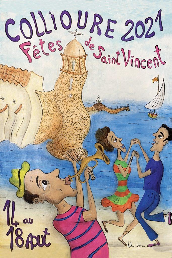 Affiche des fêtes de la Saint Vincent 2021