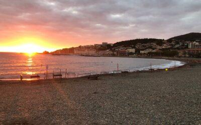 Régate à Banyuls sur mer à l'occasion de la fête de vendanges